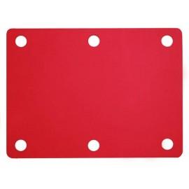 Plavecký ponton červený (100x70x3,8cm)