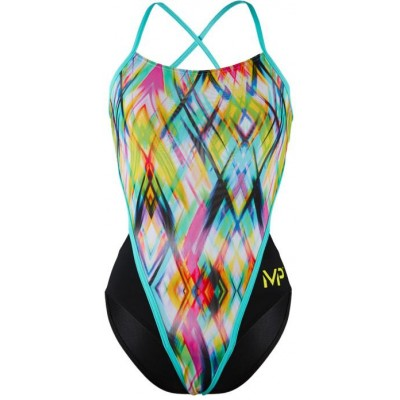 Michael Phelps plavky CANDY LADY MULTICOLOR/BLACK RACE BACK dámské