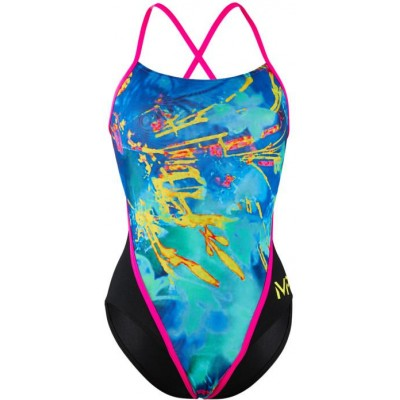 Michael Phelps plavky FUSION LADY MULTICOLOR/BLACK RACE BACK dámské