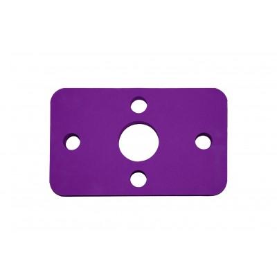 Plavecká deska KLASIK fialová (32,6x20x3,8cm)