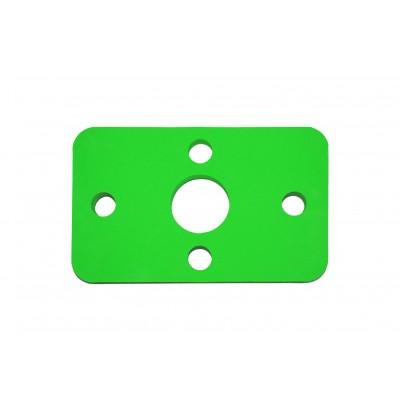 Plavecká deska KLASIK zelená (32,6x20x3,8cm)