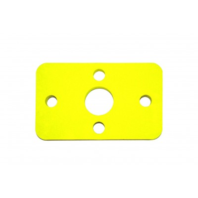 Plavecká deska KLASIK žlutá (32,6x20x3,8cm)