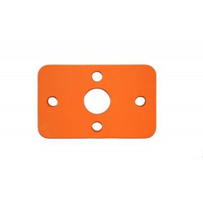 Plavecká deska KLASIK oranžová (32,6x20x3,8cm)