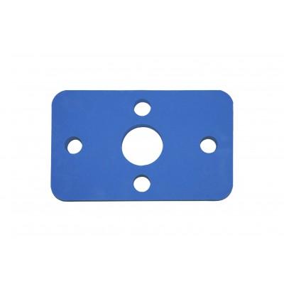 Plavecká deska KLASIK modrá (32,6x20x3,8cm)