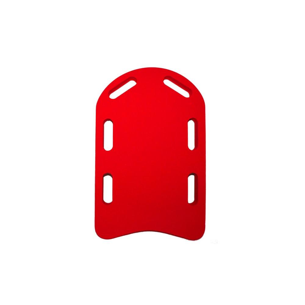 Plavecká deska LEARN červená (48x30x3,8 cm)