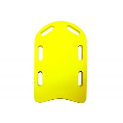 Plavecká deska LEARN žlutá (48x30x3,8 cm)
