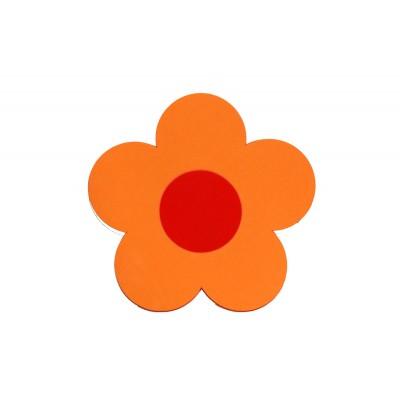 Plavecká deska KYTIČKA oranžová(31,5x30x3,8cm)