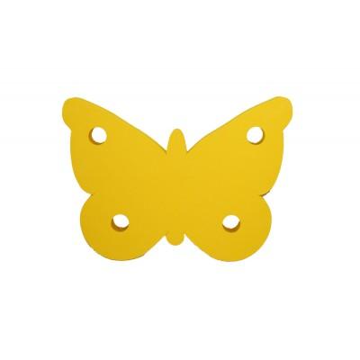 Plavecká deska MOTÝL žlutá (40x28,8x3,8cm)