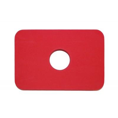 Plavecká deska KLASIK PROFI červená
