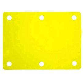 Plavecký ponton žlutý (100x70x3,8cm)