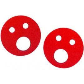 Baby nadlehčovací kroužky (červené)