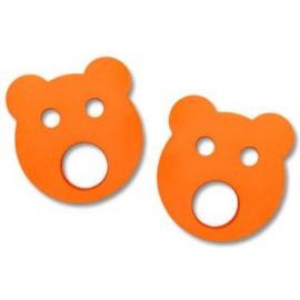 Baby nadlehčovací kroužky MEDVÍDEK (oranžové)