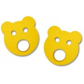 Baby nadlehčovací kroužky MEDVÍDEK (žluté)