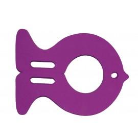 Plavecká deska RYBA fialová (30,9x40x3,8cm)