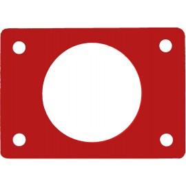 Ponton s otvorem červený (průměr 550mm)