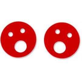 Nadlehčovací kroužky (červené)