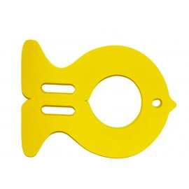 Plavecká deska RYBA žlutá (30,9x40x3,8cm)