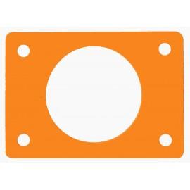 Ponton s otvorem oranžový (průměr 550mm)