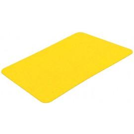 Cvičební podložka 1000x630x8mm žlutá