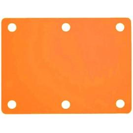 Plavecký ponton oranžový (100x70x3,8cm)