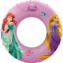 Dívčí nafukovací kruh PRINCESS (Elsa/Ariel) 56 cm