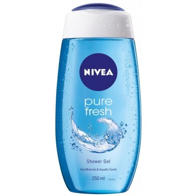 Nivea Sprchový gel Pure Fresh 250 ml