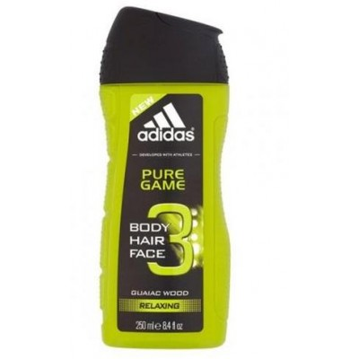 Adidas Sprchový gel 3in1 Pure Game 250 ml