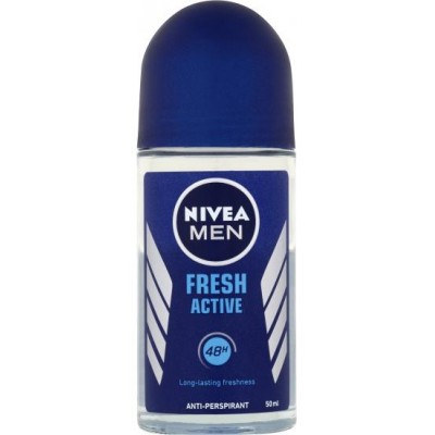 Nivea Men Kuličkový Antiperspirant Fresh Active 50 ml