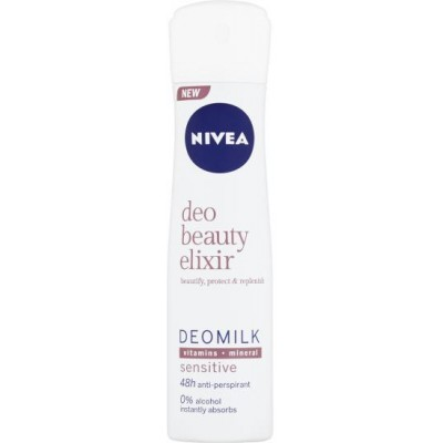 Nivea Sprej antiperspirant Deo Beauty Elixir Sensitive 150 ml