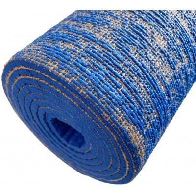Topko Gumová Jóga mat s jutovými vlákny 4 mm