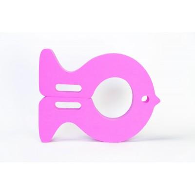 Plavecká deska RYBA růžová (30,9x40x3,8cm)