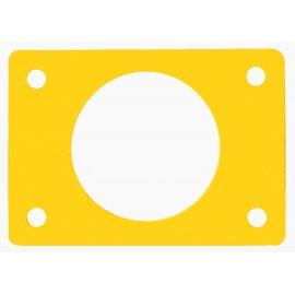 Ponton s otvorem žlutý (průměr 550mm)