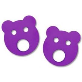 Baby nadlehčovací kroužky MEDVÍDEK (fialové)