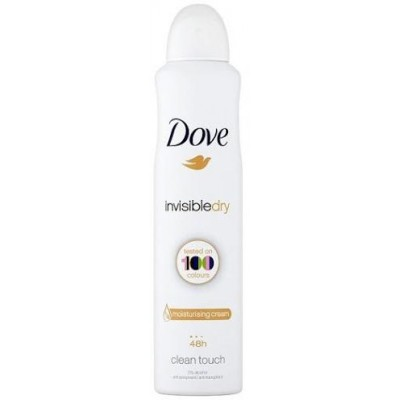 Dove Invisible Dry Deodorant Clean Touch 150 ml