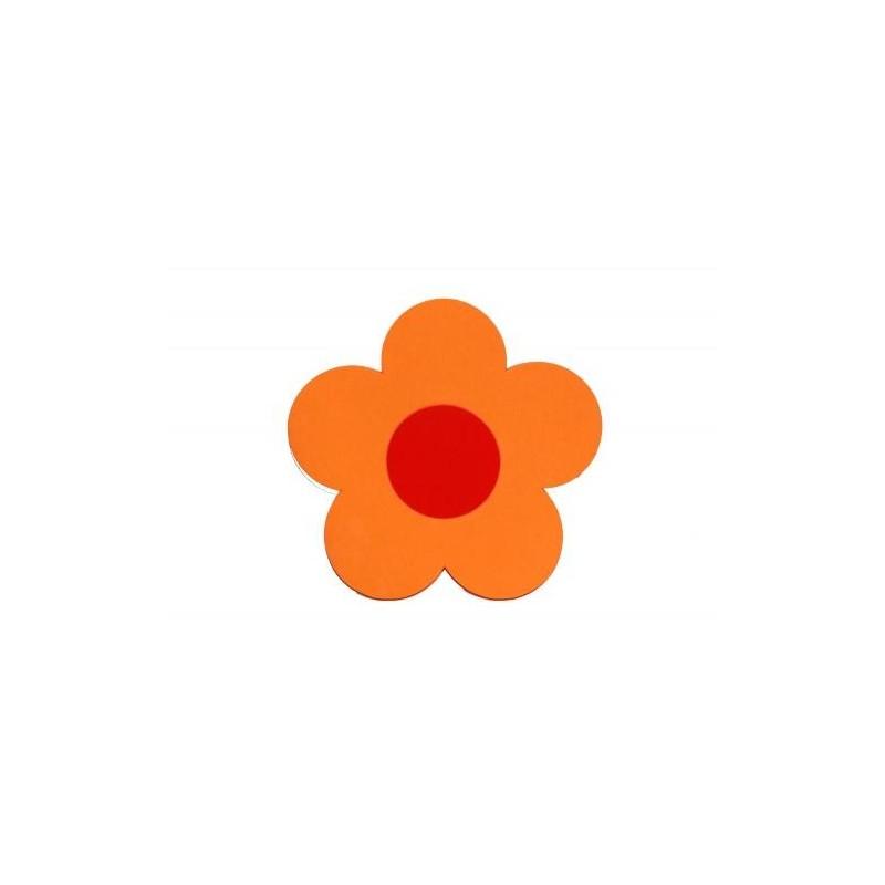 Kytička oranžová - dekorace (3mm)