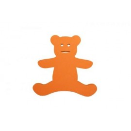 Medvídek oranžový - dekorace (3mm)