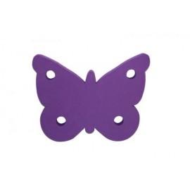 Motýl fialový - dekorace (3mm)