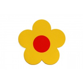 Plavecká deska KYTIČKA žlutá (31,5x30x3,8cm)