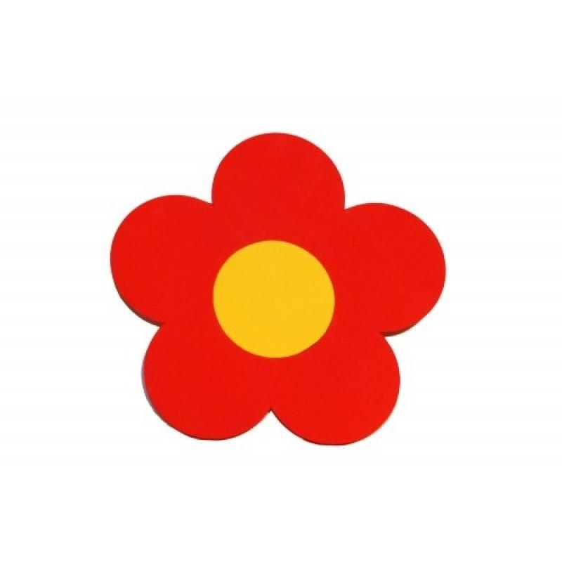 Kytička červená - dekorace (1cm)