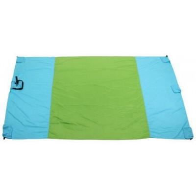 Camp Pad 210 kempingová podložka modrá-zelená varianta 38854