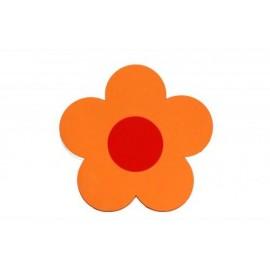 Kytička oranžová - dekorace (1cm)