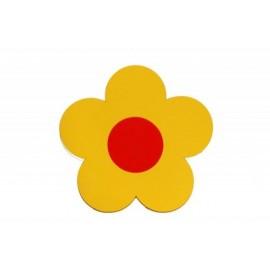 Kytička žlutá - dekorace (1cm)