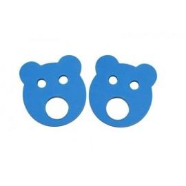 Baby nadlehčovací kroužky MEDVÍDEK (modré)