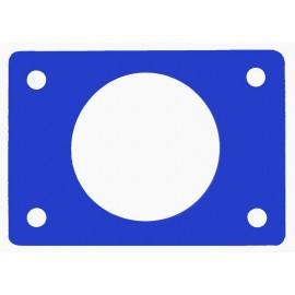 Ponton s otvorem modrý (průměr 550mm)