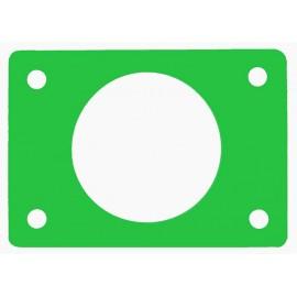 Ponton s otvorem zelený (průměr 550mm)
