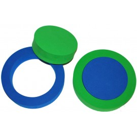 Pěnový kroužek 2ks (zelená, modrá)