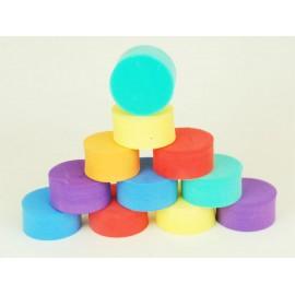 Pěnová kolečka na cvičení 10 ks - mix barev