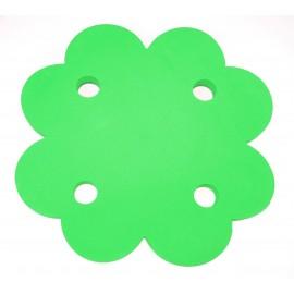 Plavecký ponton ČTYŘLÍSTEK zelený  (71x71x3,8cm)