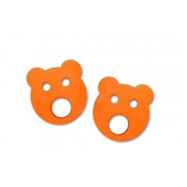 Nadlehčovací kroužky MEDVÍDEK (oranžové)
