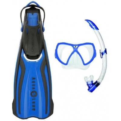 Aqualung Sport ( Technisub Sport ) šnorchlovací set brýle + šnorchl + ploutve AMIKA TRAVEL